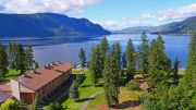 Pet-friendly accommodation in Chase,   British Columbia: Quaaout Lodge