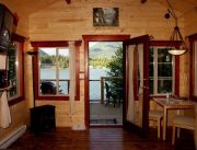 Pet-friendly accommodation in Ucluelet,   British Columbia: Anchors Inn Waterfront Cabins